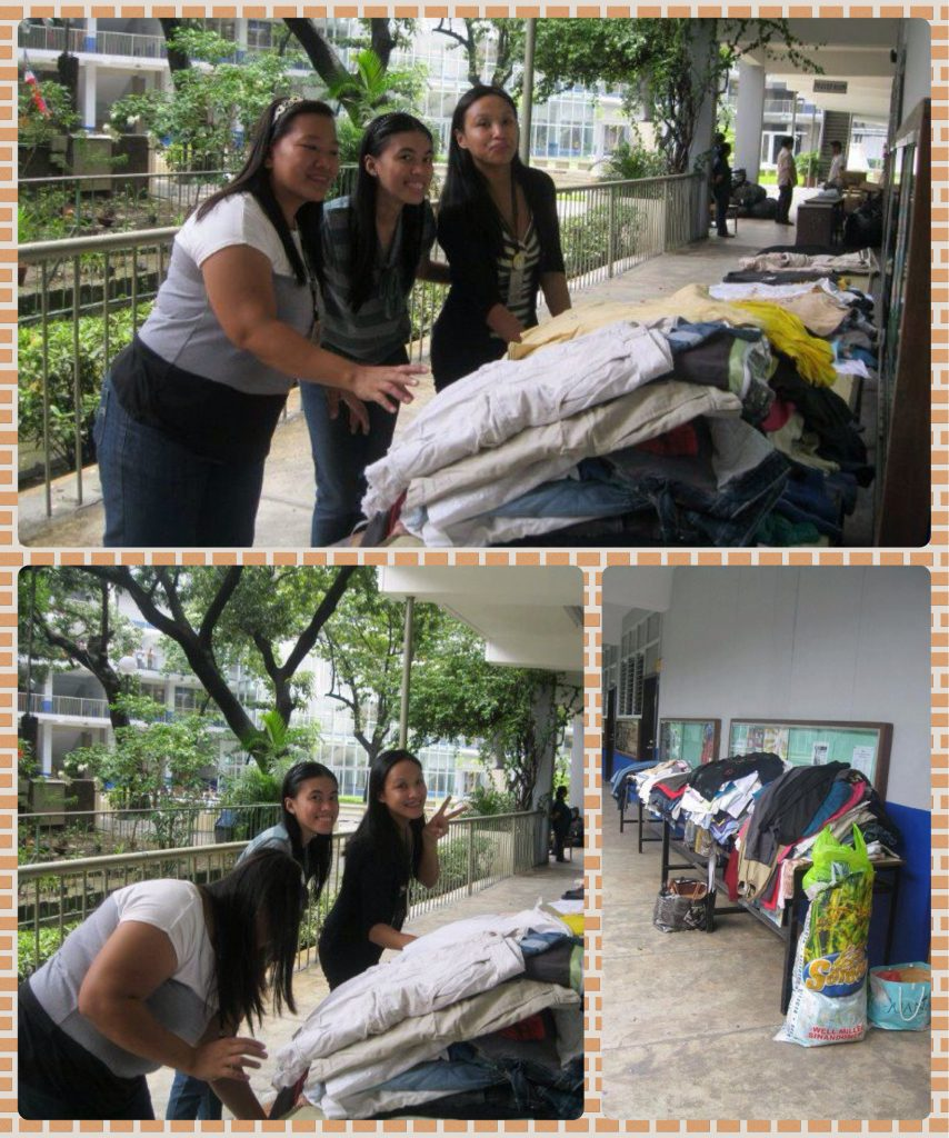 Happy to Volunteer at Jose Rizal University-Relief Operation
