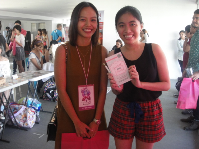 KMW with Candy Magazine Editor-in-Chief Marla Miniano