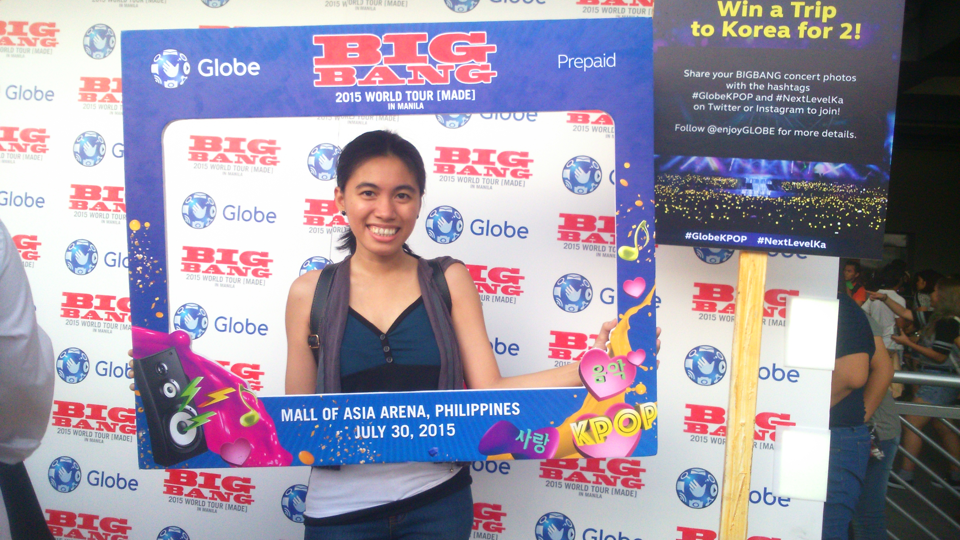 Globe Bigbang MADE Concert Photobooth