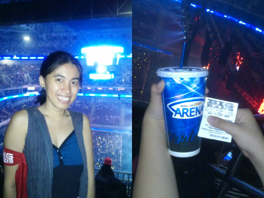 Karen Meets World Attends Bigbang MADE Tour Concert in Manila!