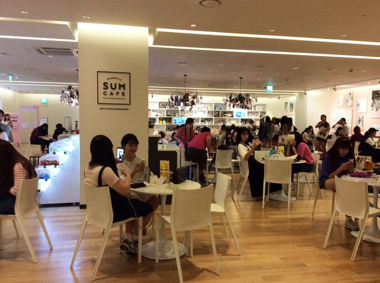 SMTown SUM Cafe