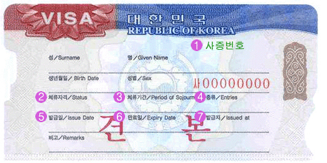 Karen Meets World Korean Visa
