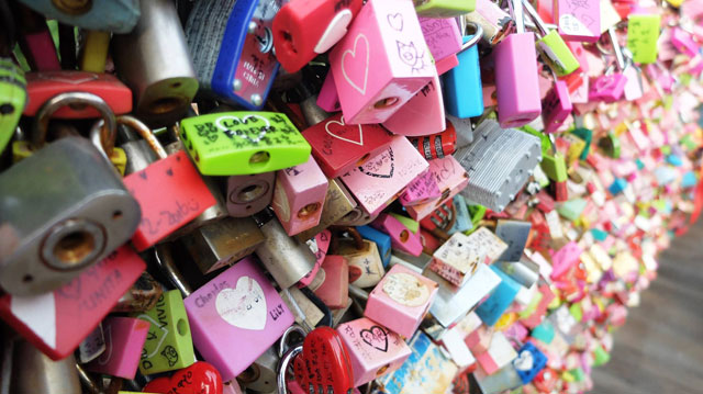 Namsan-Locks-Gate