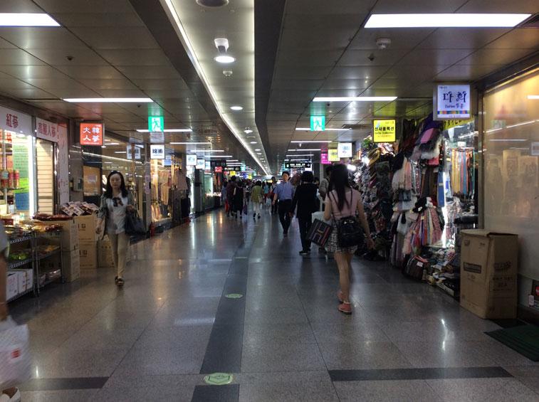 Underground-Myeongdong