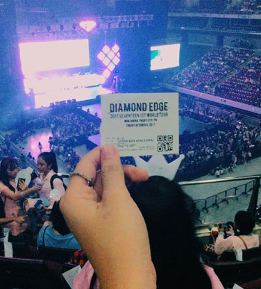 Seventeen Diamond Edge Concert in Manila