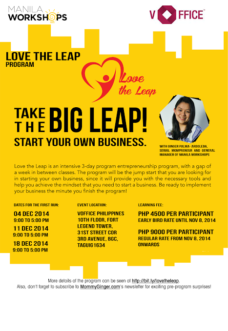 December Workshop: Love the Leap Program