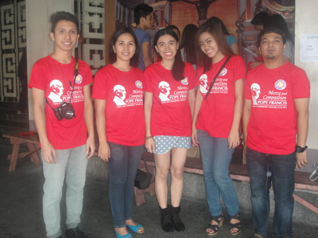 T-shirt for a Cause. Sacred Heart of Jesus Parish Support for the Papal Visit