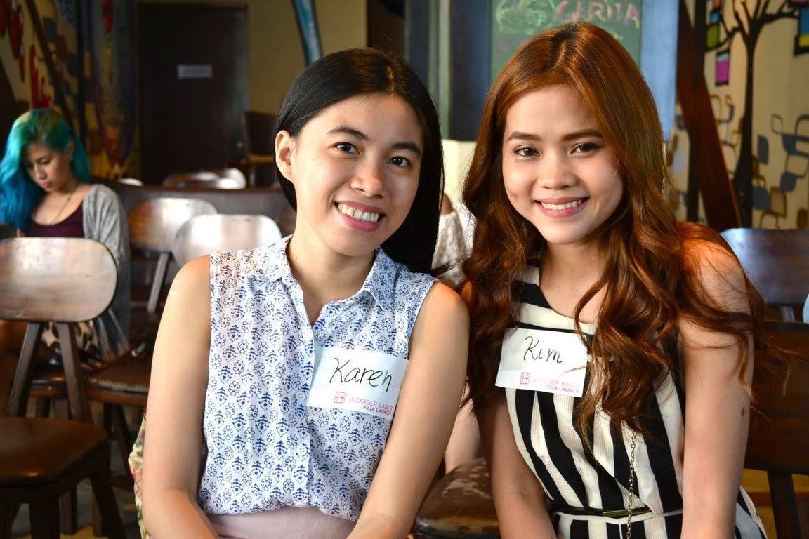 Karen Meets Kim | Bloggerbabes Asia Manila Launch