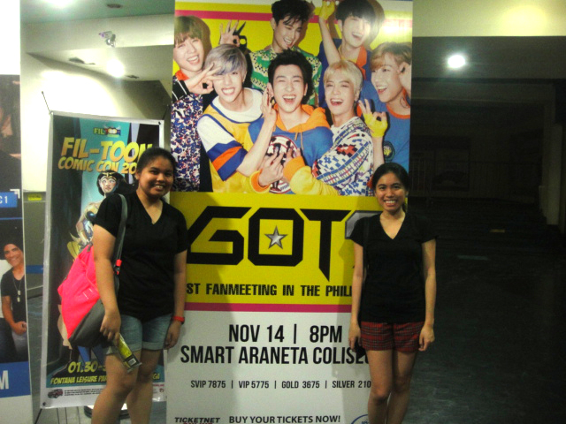 Got7PH2015 | Poster Photo Near the Ticket Outlet