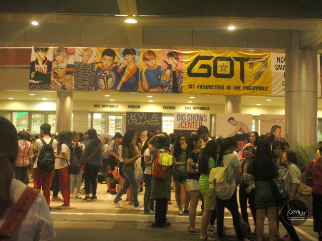 GOT7PH2015 | Entrance Gate