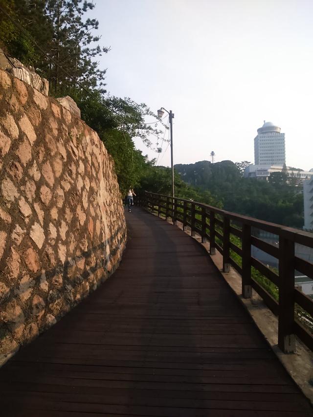 Namsan Tower Slope Climb