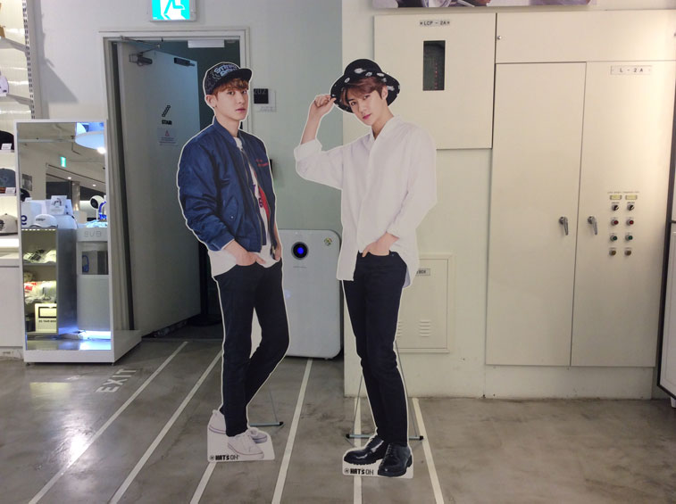 Handsome Exo Sehun and Chanyeol Standee