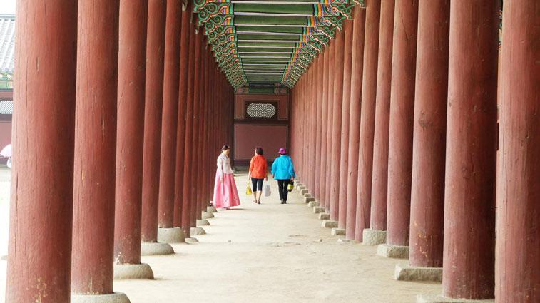 Lady in Hanbok
