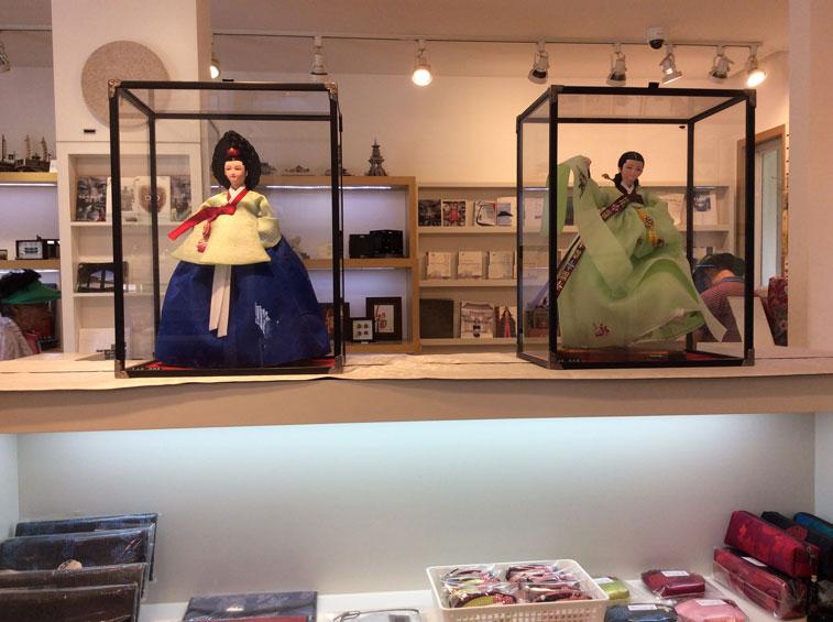 Handcrafted Korean Dolls