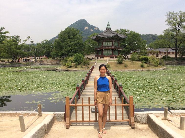 Gyeongbukgong Lagoon