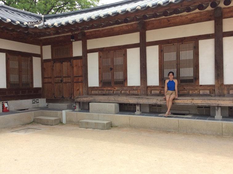 Reflecting at Gyeokbukgong
