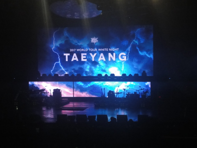 White Night in Manila Stage