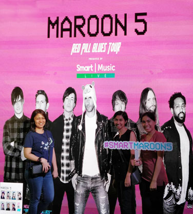 Maroon5 Red Pill Blues Tour in Manila