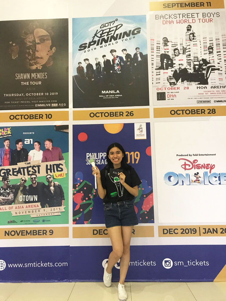 Got7 Keep Spinning World Tour in Manila show dates